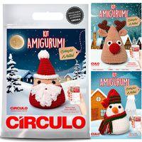 Kit Natal Amigurumi Círculo - Papai Noel - Bazar Horizonte | 200x200